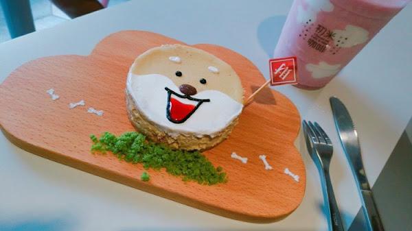 柴犬蛋糕吸睛又好吃~初米咖啡Choose me cafe'