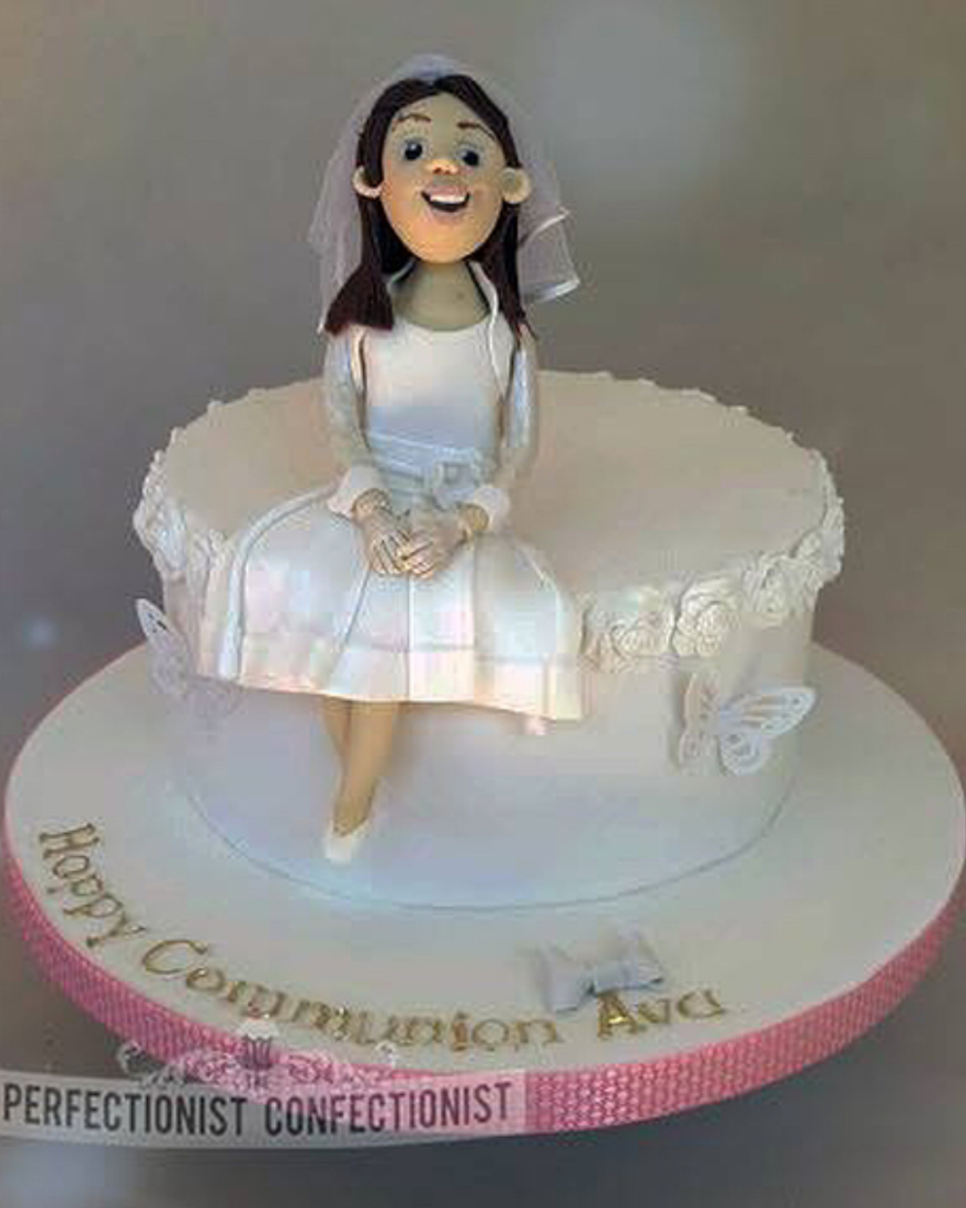 girls Communion cake idea