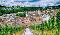 Шаффхаузен - самый северный городок Швейцарии