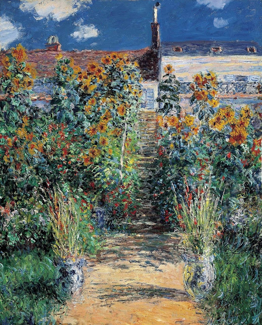 Claude Monet, The Artists Garden