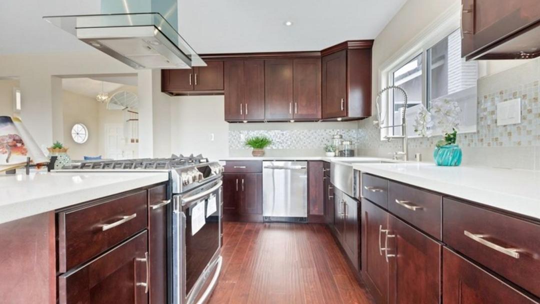 Granada Kitchen Cabinets And Floor Wood Cabinets In Anaheim