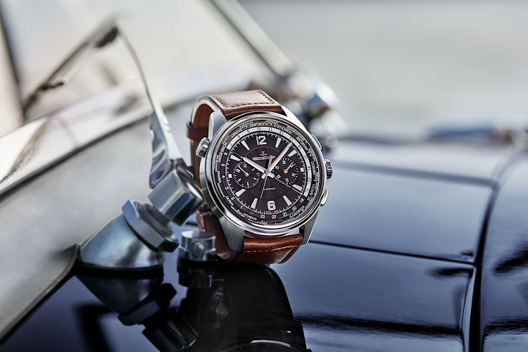 Jaeger-LeCoultre, the Polaris Chronograph World Time