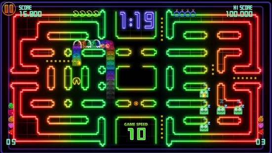 PAC-MAN CE DX- screenshot thumbnail