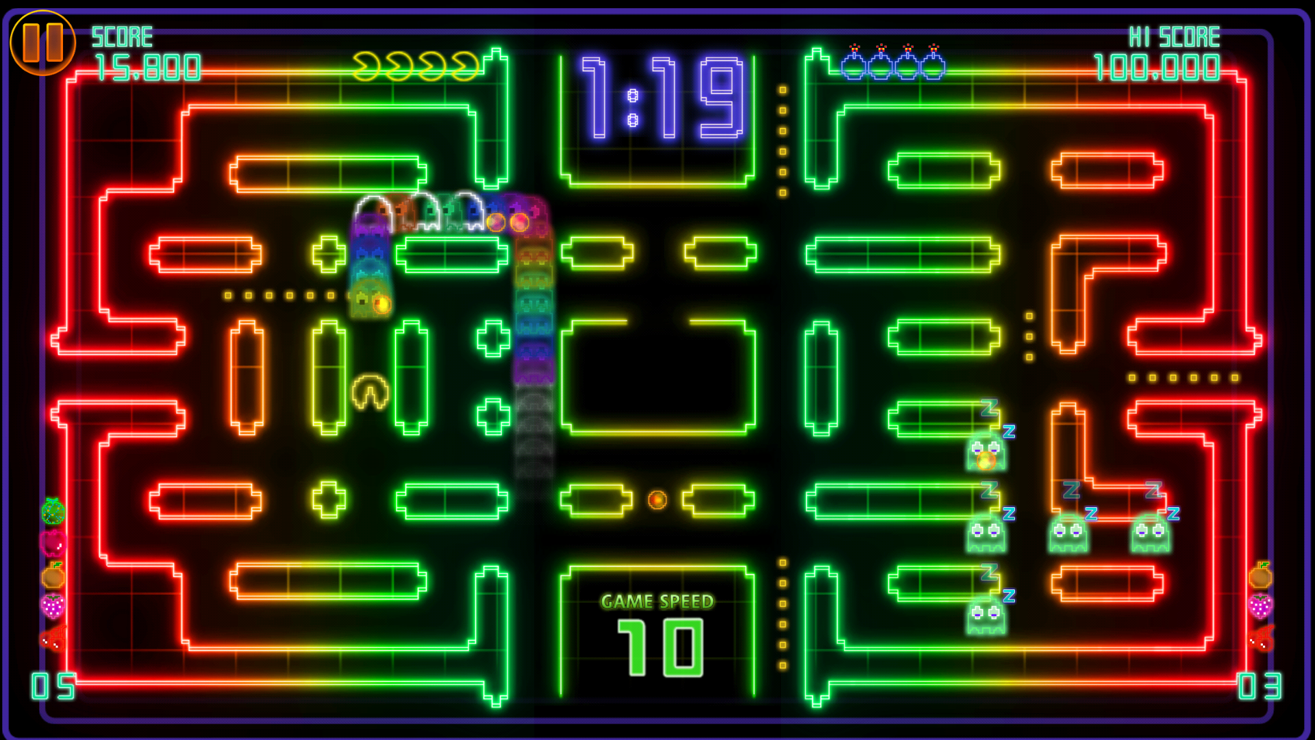 PAC-MAN CE DX screenshot #4