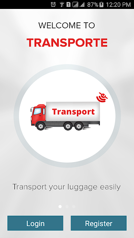 Screenshots for Transporte  Book Truck online