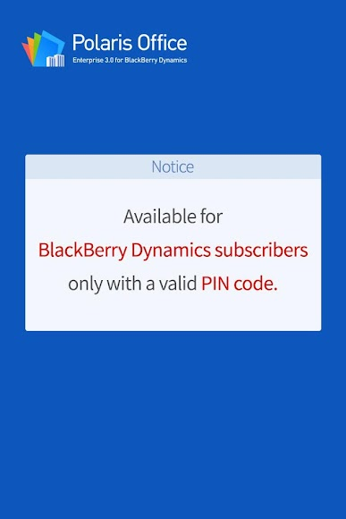 Polaris Office for BlackBerry 3.0.8