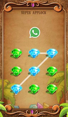 android Applock Theme Jewels Star Screenshot 2