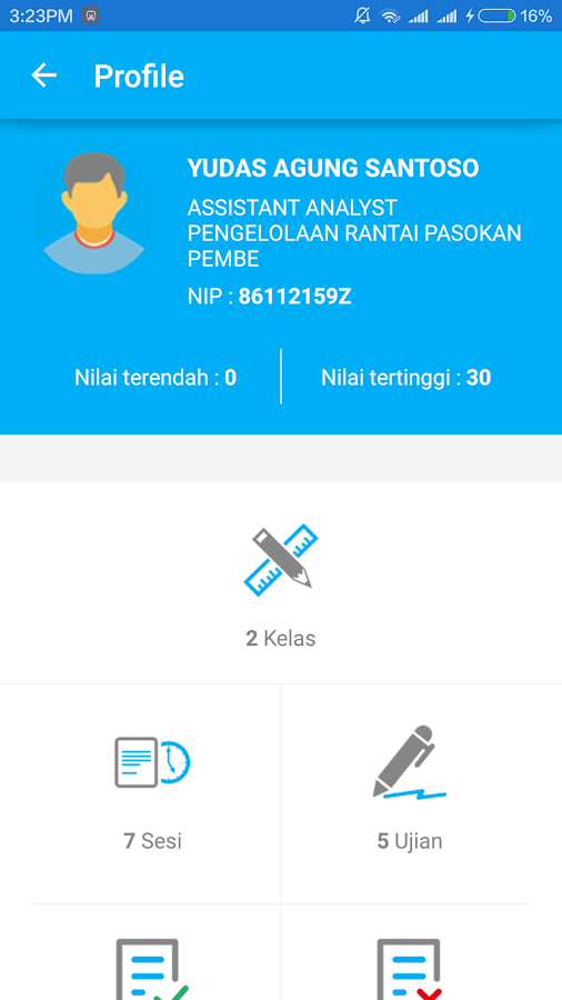 PLN Mobile Learning- screenshot
