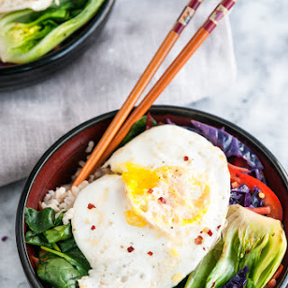 Healthy Brown Rice Stir Fry Bowls Recipe