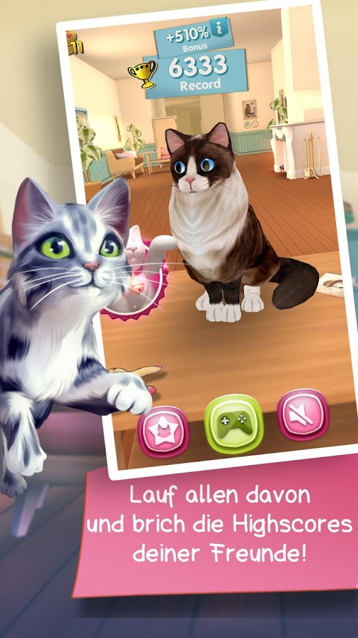 Cat Run – Screenshot