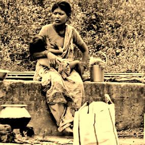 Life Goes On by Chiradeep Mukhopadhyay - People Street & Candids
