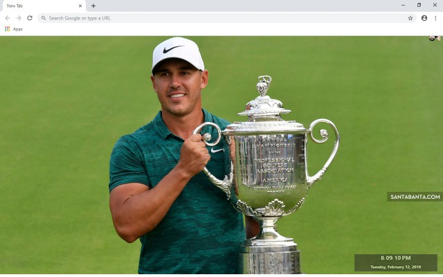 Brooks Koepka New Tab & Wallpapers Collection