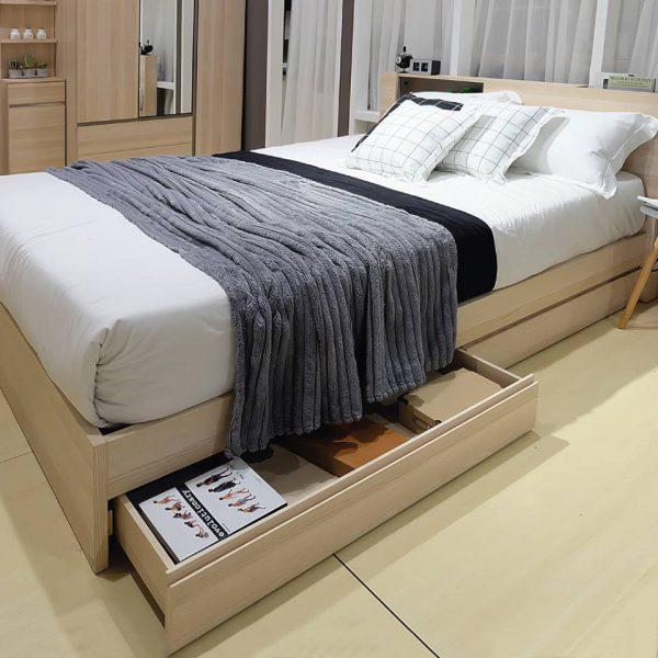 Giường ngủ có hộc rất tiện dụng