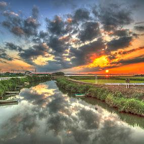 My Sunset by Irfan Maulana - Landscapes Sunsets & Sunrises