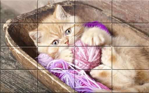 Tile Puzzle Cats apkpoly screenshots 3