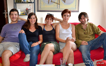 Photo: My couch surfing friends, Volos, Greece