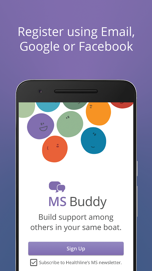 MS Buddy: Meet others with MS- screenshot