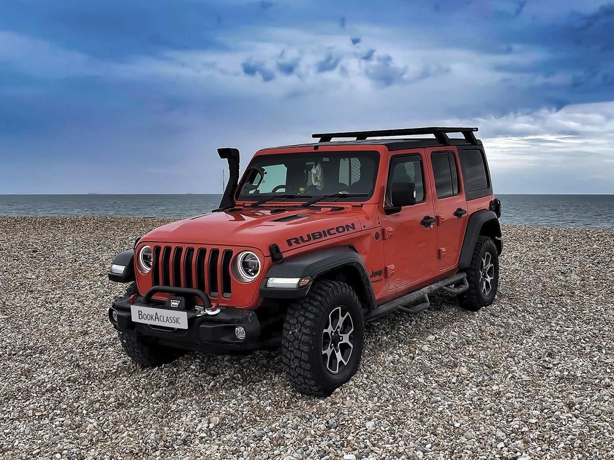Jeep Wrangler Hire London