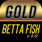 Gold Betta Fish Live Wallpaper