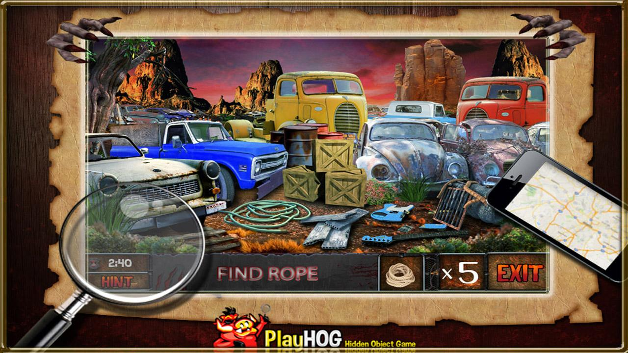 Zombie Night New Hidden Object- screenshot