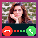 Kriti Sanon Video Call Fake Prank icon