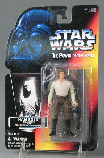 Action figure:Han Solo | Star Wars | The Power of the Force
