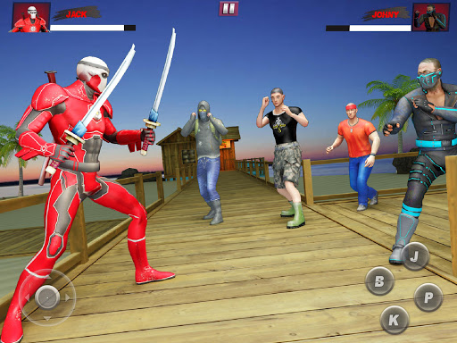 Ninja Superhero Fighting Games: City Kung Fu Fight 5.9 screenshots 8