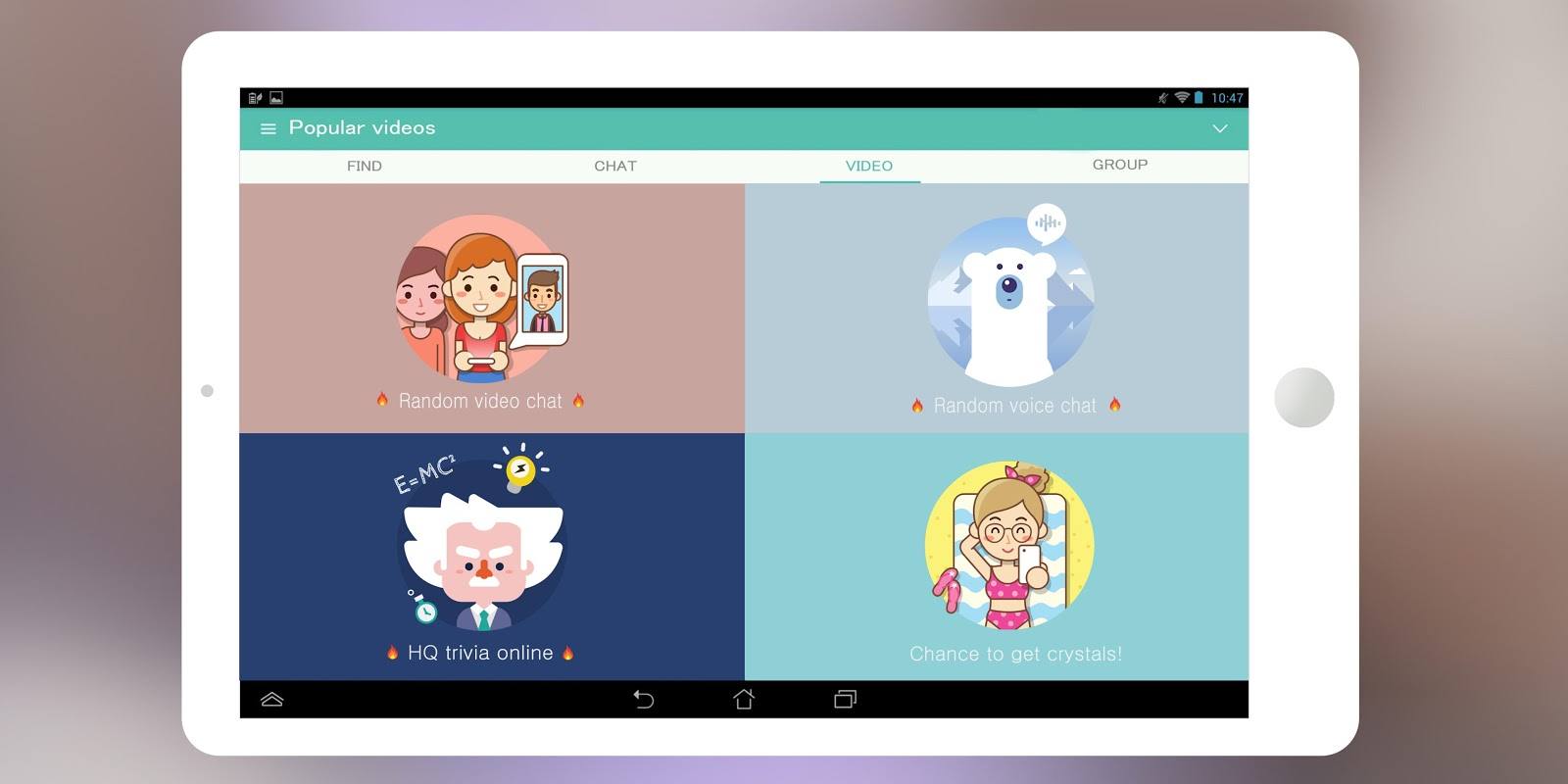 SayHi Chat, Meet New People screenshots