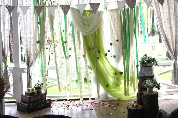 Фото №6 зала Летняя веранда «Клюква в сахаре»