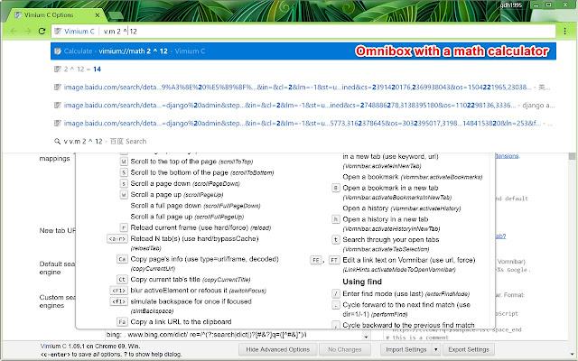 Vimium C - Chrome'i veebipood