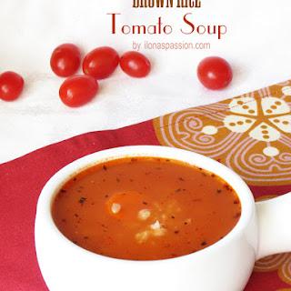 Brown Rice Tomato Soup