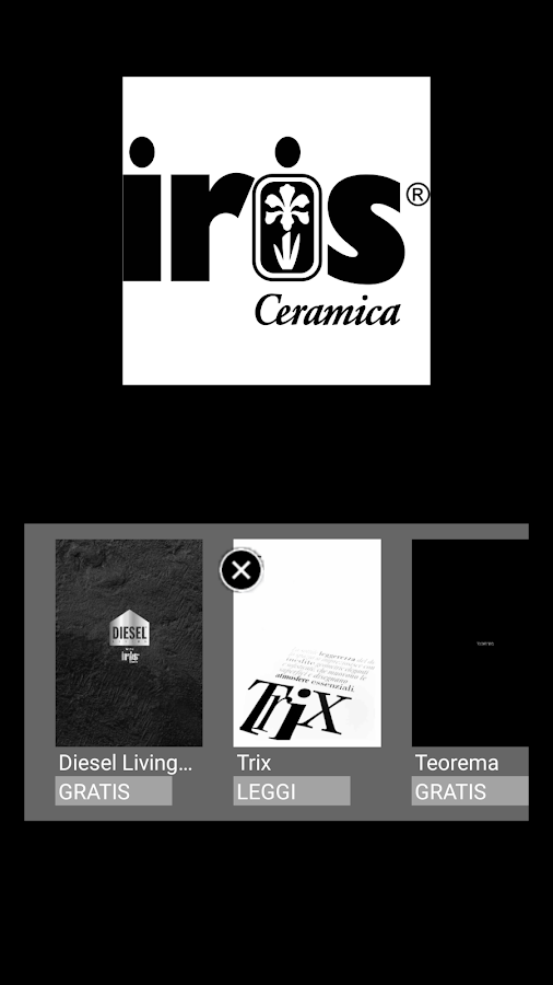 Iris Ceramica- screenshot