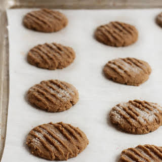 Gluten Free Chewy Molasses Cookies.