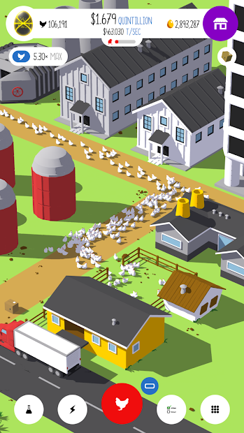 Egg, Inc. Android App Screenshot