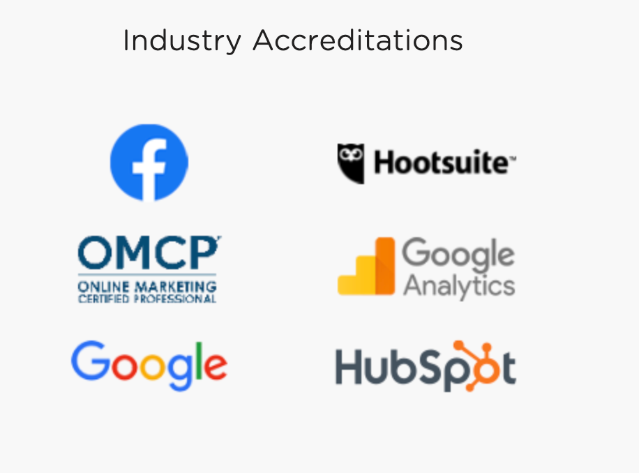 Industry Accreditations