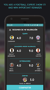 ValoraFutbol - Rate players, managers and referees- screenshot thumbnail