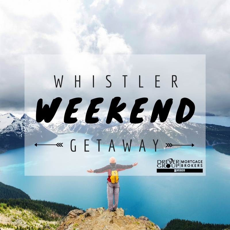 BCIT Whistler Weekend Getaway Contest Dreyer Group