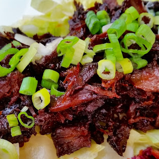 Slow Cooker Korean Shredded Beef.