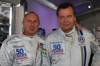Photo: Mika Arpiainen, Markku Alen, Volkswagen 50 years in Motorsport, Formula Vee, Daytona International Speedway, Courtesy of Volkswagen of North America