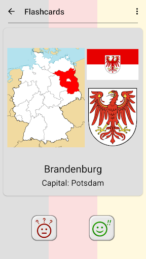 German States - Flags, Capitals and Map of Germany 2.1 screenshots 4