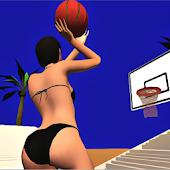 Summer Beach Basketball Mania