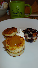 Photo: A trio of pancakes at Palmer's Cafe.