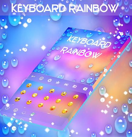 Rainbow Keyboard with emojis 1.181.1.8 screenshot 2092271