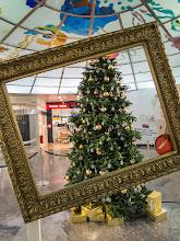 Photo: Weihnachtlicher Flughafen