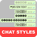Chat Styles: Cool Font & Stylish Text for WhatsApp icon