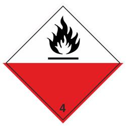 Класс 4.2 Самовозгорающиеся вещества