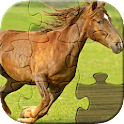 Horses Jigsaw Puzzles for Kids icon