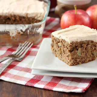 Apple Cake with Maple Frosting.