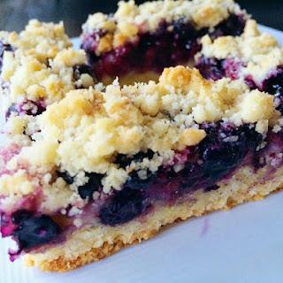 Lemon Bars With Blueberries Recipes.