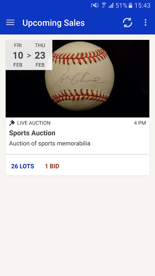 J. Sugarman Auction Corp- screenshot